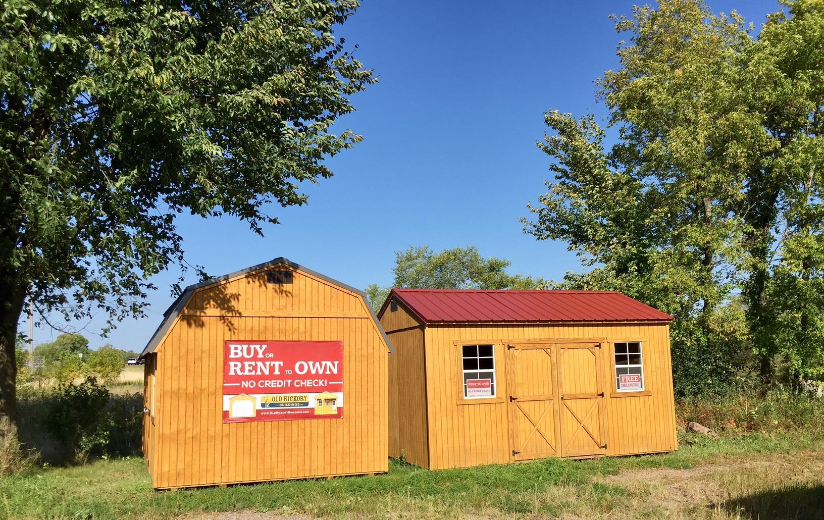 Old Hickory Buildings - Modern Barnyard